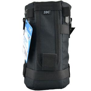 JJC DLP6 XL weather-resistant nylon Deluxe Case Pouch for DSLR Lens below 235mm