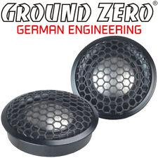 Ground ZERO gzrt 25t 25 mm TITANIO TWEETER ALTOPARLANTI TWEETER CON CONDENSATORE