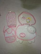 "Baby Annabell Changing Bag & 13"" zapf baby doll soft body"