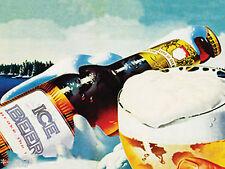 Nostalgic Art Magnet Ice Beer - Eis kaltes Bier gekühlt Lady Kühlschrank