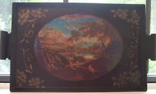 Lovely Pastoral metal tray