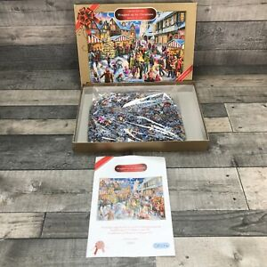 Wrapped Up For Christmas 1000 Piece Jigsaw Puzzle Marcello Corti Limited Edition