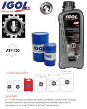 Bidon de 5 litres Huile Boite de vitesse automatique Igol ATF 430 Livré