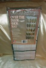 Organizer Over The Door Shoe Bag  Holds 10 Pair Shoes New USA
