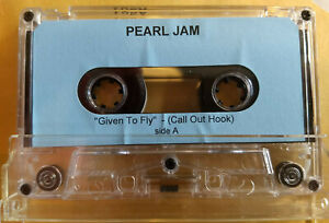 PEARL JAM Given To Fly (Call Out Hook) PROMO CASSETTE Yield MIKE McCREADY Vedder