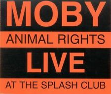 MOBY animal rights - live at the splash club (CD, single, promo, 1996) punk rock