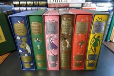 Folio Society BLUE RED PINK BROWN GREEN YELLOW FAIRY BOOKS Andrew Lang 6 Volumes