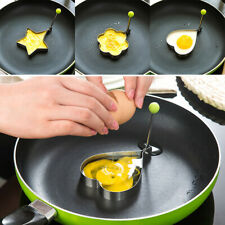 Random Stainless steel beautiful fried egg mold surprise breakfast fashion gifts
