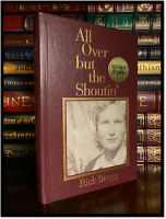 All Over But The Shoutin ✍SIGNED✍ by RICK BRAGG Brand New Southern Life Hardback