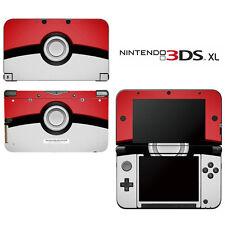 Vinyl Skin Decal Cover for Nintendo 3DS XL LL - Pokemon Pokeball