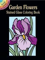 Coloring Book Page For Adult Drawing Paperback Garden Flowers Kid Activity Books