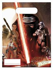 Star Wars The Force Awakens Party Loot Bags 6 pack