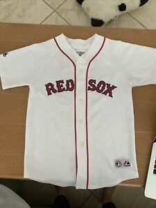 Jason Varitek Boston Red Sox Majestic Jersey Size Youth L