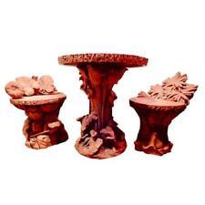 Terra Cotta Antique Three-Piece Bistro Set