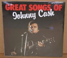 Great Songs Of Johnny Cash NEW SEALED LP vinyl record Astan German import