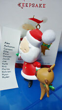 HALLMARK 2014 Kringle and Kris 1st in the series Santa List of child's names NEW