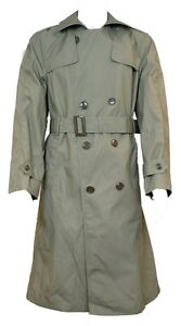 GI USMC All Weather Trench Coat With Lining