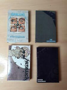 Metallica Cassette Cassingle Lot