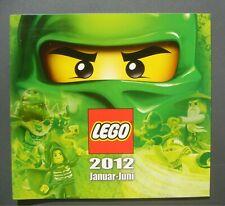 LEGO 2012 Katalog Catalogue Januar - Juni