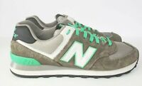 New Balance 574 Mens Running Shoes Size Gray Green Blue ML574CPF Fast Shipping!