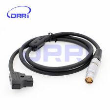 Alexa Mini Camera Power Cable D-TAP to LEMO 2B 8 pin Female