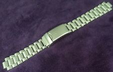 NOS~16MM HAMILTON~Satin Finished Solid Stainless Steel Watch Band-NO END PIECES!