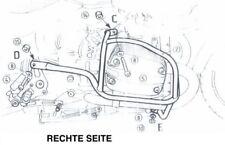 BMW R 1150 AÑO 00 hasta 06 Motocicleta Protector de motor Hepco BECKER CROMO
