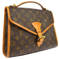 LOUIS VUITTON BEL AIR 2WAY BUSINESS HAND BAG MONOGRAM M51122 SL0957 A47216