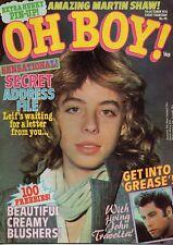 Oh Boy! Magazine 7 October 1978 No.98     Leif Garrett     Martin Shaw    Grease