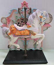 Willitts Carousel Horse Figurine Wurlitzer Background Casablanca Music Box
