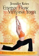 Energy Flow Beginner Vinyasa Yoga Exercise Video on DVD by Jennifer Kries