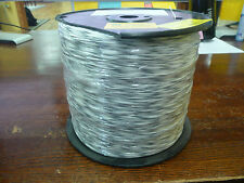 UL1213  26AWG   White w/Gray stripe   600V   oil resistant  Aprox 4000ft