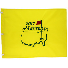 2017 Masters Embroidered Golf Pin Flag *Sergio Garcia Winner*