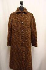 Women's Hellyet Brown Wool Coat Size 18 KK1159