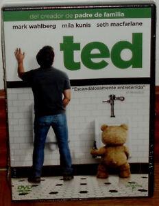 Ted DVD Sigillato Nuovo Commedia Humor Mark Wahlberg Mila Kunis (Senza