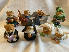 Lucy & Me Priest Angels Bunny Lucy Rigg Enesco Lot Of 8 Used