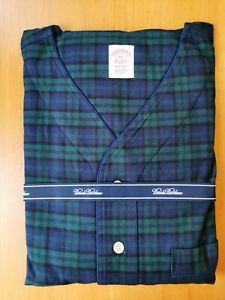 Brooks Brothers Men's XXL All Cotton Checked Nightshirt
