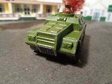 MATCHBOX    STOAT ARMORED TRUCK,   GREEN    1:64 SCALE DIE-CAST  5-20-15