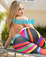 Alexis Texas - 10x8 inch Photograph #017 in Funky Patterned Leggings