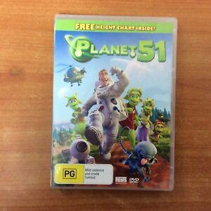 Planet 51 - R4 - DVD - Excellent Condition