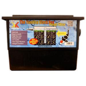 Kockney Koi Black Box Filter Basic Fish Pond Filter System Yamitsu Garden
