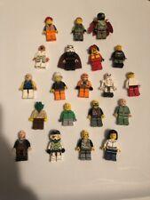 20 Random LEGO MINIFIG PEOPLE LOT grab bag of minifigure guys city town set Star