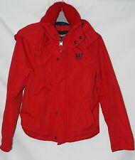 ABERCOMBIE KIDS All-Season Weather Warrior Jacket red colour size M (10-12 yo)