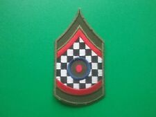 MOD SKA SCOOTER SEW ON / IRON ON PATCH:- SGT STRIPE MOD WHO TARGET CHECK b
