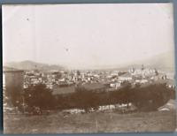 Algérie, Bône (عنابة), Vue générale de la ville  Vintage citrate print. Photo J.