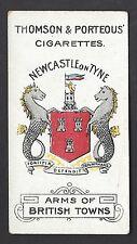 THOMSON & PORTEOUS - ARMS OF BRITISH TOWNS - #41 NEWCASTLE ON TYNE