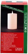 LED Véritable Bougie de cire blanc avec capteur de lumière 20cm hauteur