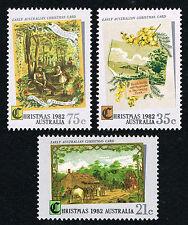 Australia Sc# 839 - 841 = 1982 Christmas = Mint Perfect Nh = Po Fresh!