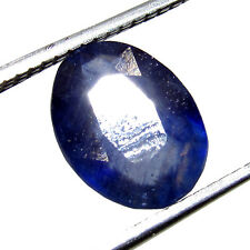 2.70Cts High Quality Natural Oval Cut Gemstone Blue Sapphire CH 6072 Sri Lanka