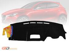 Dash Mat Mazda 2 DJ Neo & Maxx 7/2014-2019 Hatch + Sedan DM1372 (NO HUD) BLACK
